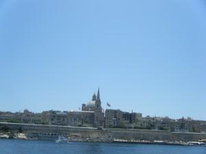 Valletta city walls, Malta