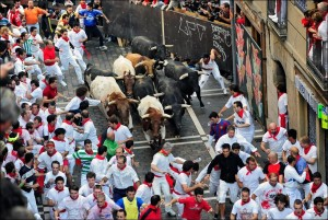 Running of the Bulls Spain